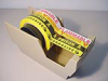 Fisherbrand Lab Hazard Warning Labels with Dispenser -- hc-15-932