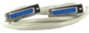 6ft DB25 F/F Extension Straight Thru Molded Cable -- 10D3-01406 - Image