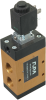3/2-way Solenoid Vacuum Valve, Pneumatically Supported with Spring Reset -- 36.210 | 36.211