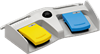 2-pedal Medical Foot Switch -- MKF 2-MED GP26 -Image