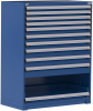 Heavy-Duty Stationary Cabinet (with Compartments) -- R5AHE-5857 -Image