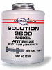 Solution 2600 Premium Nickel Antiseize (1 LB. Brush Top Can) -- 10206