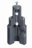 Wide-Range Pressure Relief Valve, PP, 1/2