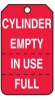 Cylinder Status Safety Tags -- LCK287