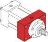 Series MH - ISO Metric Hydraulic Cylinder -- MH36