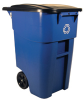 Rubbermaid Brute Roll Out Recycling Container -- 7011