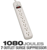 Tripp Lite TLP712 Protect It! 7 outlet Surge Protector - 4 T -- TLP712