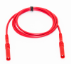 Test Lead Shrouded Banana Plugs Both ends Silicone, 39? Red -- BU-6161-M-39-2