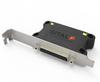 Dual, 3 Stubs MIL-STD-1553 Coupler, PC Bracket -- CPLR1553STL-06-PC