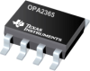 OPA2365 2.2V, 50MHz, Low-Noise Single-Supply Rail-to-Rail Operational Amplifiers -- OPA2365AIDRG4 -Image