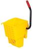 Rubbermaid WaveBrake® Sideward Pressure Mop Wringer - Fits 28 and 35 Quart Buckets -- RM-612788YEL