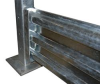 Guard Rail - Structural Galvanized: RIGID POSTS -- GGR-TP18