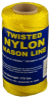 #18 NYLON MASON LINE FL.YELLOW 550' TUBE -- 11-185