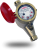 Lead Free Brass Residential Hot Water Meter / Submeter -- WM-NLCH Series - Image