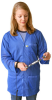 "Lab Tech ESD-Safe 30"" Length Coat -- EEC-XL -- View Larger Image"