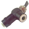 Toggle Valve,NC,1/4 In,Push In -- 14F280