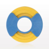 Identification Roll Tape for Color Coding Instruments, Yellow -- 99974 -Image