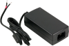 100-240 VAC to 12 VDC @ 4 A, Desktop Power Supply w/ Tinned Leads (Choose Power Cord) -- TR135 - Image