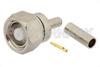 75 Ohm SMC Plug Connector Crimp/Solder Attachment for RG179, RG187 -- PE4249 -Image