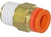 Connector, Pneumatics; 5/16 in.; 1/4 in.; 14.29 mm (Hex.); 6 mm (Min.); NTP -- 70070338 - Image