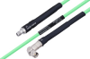 Temperature Conditioned SMA Female to SMA Male Right Angle Low Loss Cable 72 Inch Length Using PE-P142LL Coax -- PE3M0137-72 -Image