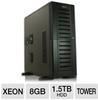 CybertronPC CALIBER TSVCXV9040 Tower Server - Intel Xeon 322 -- TSVCXV9040