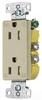 Duplex/Single Receptacle -- RRD15SIWRTR