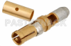 D-Sub Receptacle Contact Solder Attachment For RG180, RG195 -- PE4807 -Image