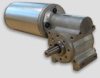 PMDC Right Angle Gearmotor -- Merkle-Korff Ø63 x 125 long - Image