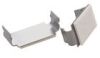 Flat Cable Clamp - Adhesive Mount, Aluminum -- AFCC-08 - Image