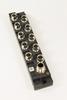 M8 10 port plastic passive distribution box with LED -- 800-5M -- View Larger Image