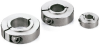 Set Collar (Made of Stainless Steel) - For Securing Bearing - Clamping Type -- NSCS-SB -- View Larger Image