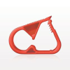 Pinch Clamp, Red -- 140071 -Image