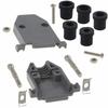 D-Sub, D-Shaped Connectors - Backshells, Hoods -- 979-15PGE-ND