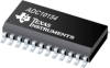 ADC10154 10-Bit Plus Sign 4 microseconds ADCs with 4- or 8-Channel MUX, Track/Hold and Reference -- ADC10154CIWMX/NOPB