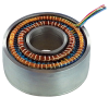 Honeywell Hawk™ 3-Inch Series Resolvers, dual speed (1X and 16X), 3.00 in OD, pancake simple housed with transformer configuration, 7 V, 2500 Hz, leadwire, no bolt pattern, sleeve mounting type, -- D30D12XGASNTB