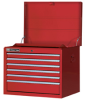 Six Drawer Top Chest (with Roller Bearing Slides) -- WT816