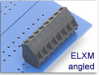 Fixed Terminal Block -- ELXM Angled SMT Compatible Series -- View Larger Image