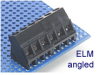 Assembled-to-Size Fixed Terminal Block -- ELM Angled Series