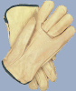 Large Grain Leather Gloves -- 9246 - Image