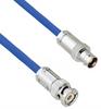 Plenum Cable Assembly TRB 3-Slot Plug to 3-Lug Cable Jack MIL-STD-1553 .242