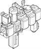 MSB6N-1/2:C3J3D7A1F3-WP Filter/Regulator/Lubricator Unit -- 550503
