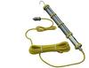 Explosion Proof, 15 Watt LED Tube Drop Light - Class I, Div. I - 25' SOOW Cord w/ Exp. Proof Plug -- EPL-FL1524-LED-25-1523