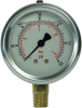 Liquid Filled Pressure and Vacuum Gauge - PSI/Bar - Image