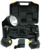 HID Rechargeable Handheld Light - 35 Watt - 3200 Lumen - 4000'L X 50'W Spot Beam - 70 min. Run Time -- RL-10