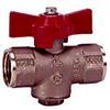 1-Piece Brass Gas Ball Valves -- 0544999 - Image