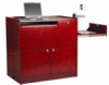 Multimedia workstation with document camera drawer -- WSV-45