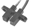 HOA1881 Series Transmissive Sensor, Transistor Output, Plastic Package -- HOA1881-011