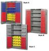 BIN STORAGE CABINETS (Including bins) -- HDBC48-26-84