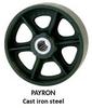 """""""V"""" Grooved Wheel Casters -- H200-8USG -- View Larger Image"""